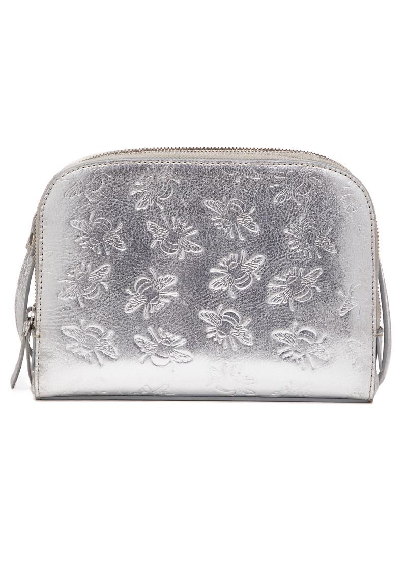 NOOKI Sabina Embosses Bee X Body Bag - Silver main image