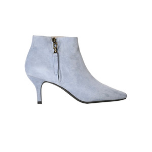 Agnete Gold Suede Ankle Boot - Blue