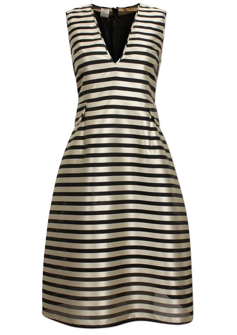 BAUM UND PFERDGARTEN Adelis Jaquard Dress - Pristine Black main image