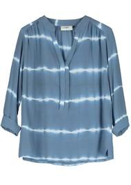 Pyrus Paola Blouse - Tie Dye Blue