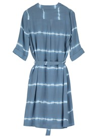 Pyrus Valetta Silk Dress - Tie Dye Blue