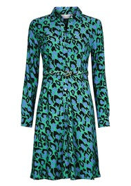 FABIENNE CHAPOT Hayley Dress - Summer Night Leopard