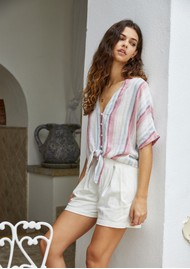 Rails Thea Top - Tropic Stripe