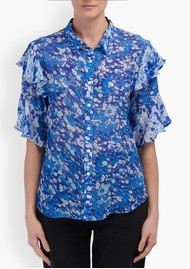 Lily and Lionel Frankie Shirt - Forget Me Not Blue