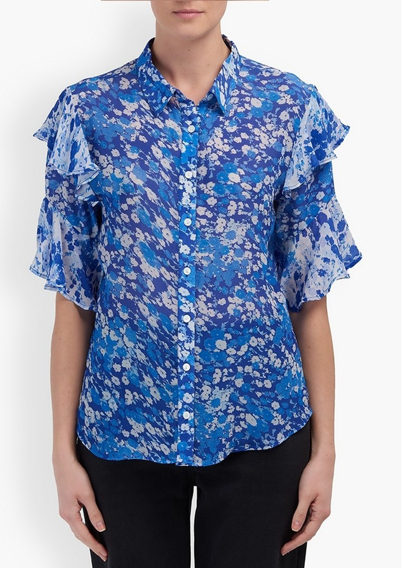 Lily and Lionel Frankie Shirt - Forget Me Not Blue main image