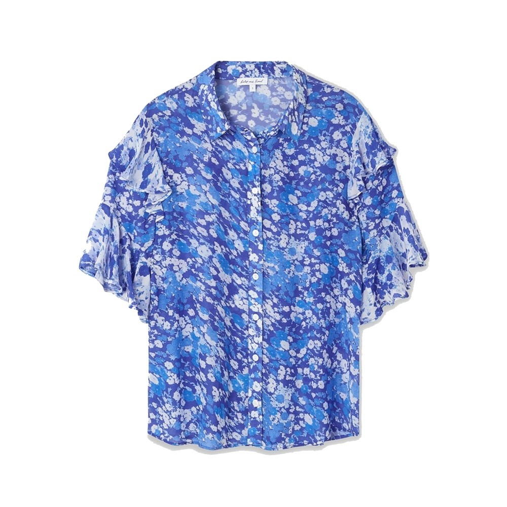 Frankie Shirt - Forget Me Not Blue