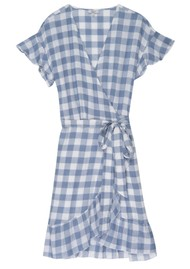 Rails Brigitte Dress - Periwinkle Check