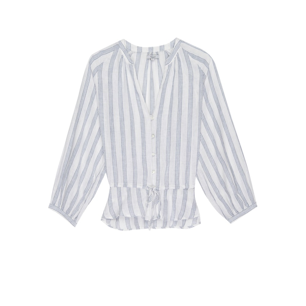 Marti Blouse - Cayman Stripe