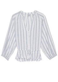 Rails Marti Blouse - Cayman Stripe