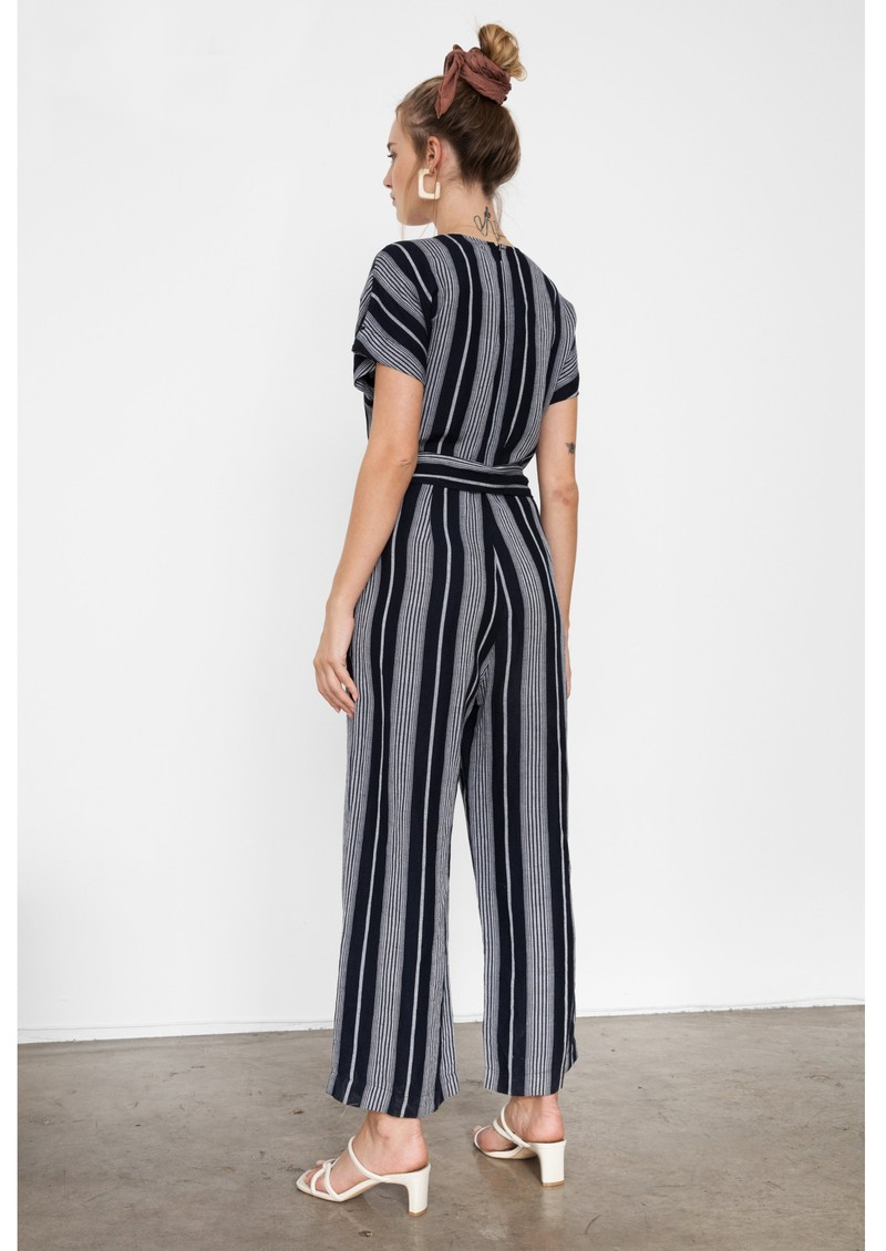 Rails Angela Jumpsuit - Mediterranean Stripe main image