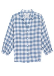 Rails Natalie Checked Shirt - Periwinkle