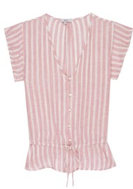 Rails Bretton Top - Rose Stripe
