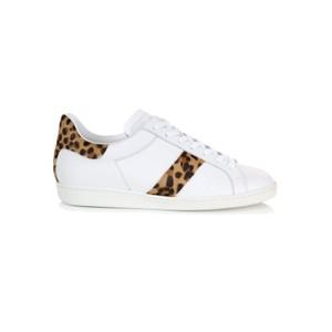 Copeland Leopard Trainer - White