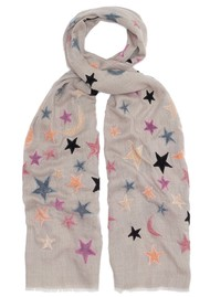 Lily and Lionel Bella Wool Blend Scarf - Oat & Pastel