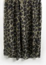 Isla Leopard Silk Scarf - Khaki additional image