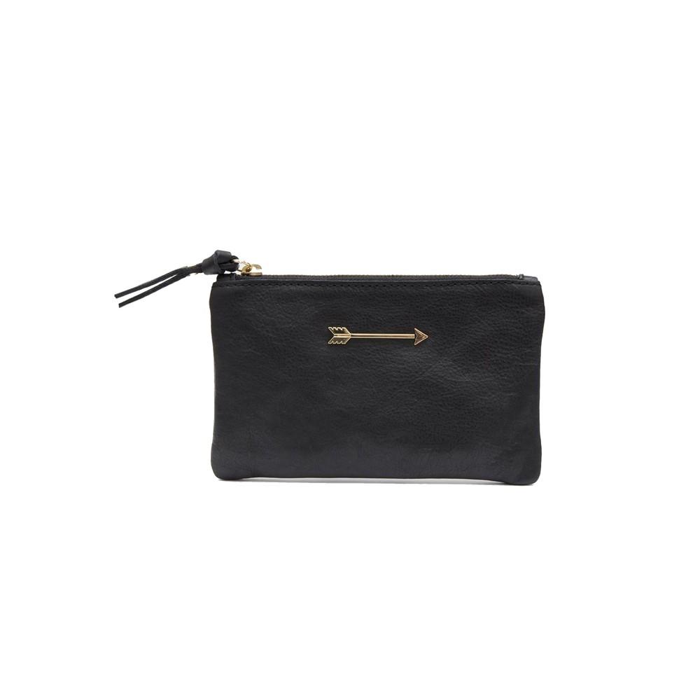 Arrow Pouch Wallet - Black