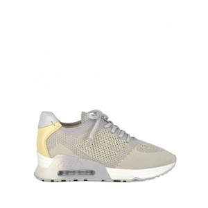 Lucky Knit Trainers - Pearl & Yellow