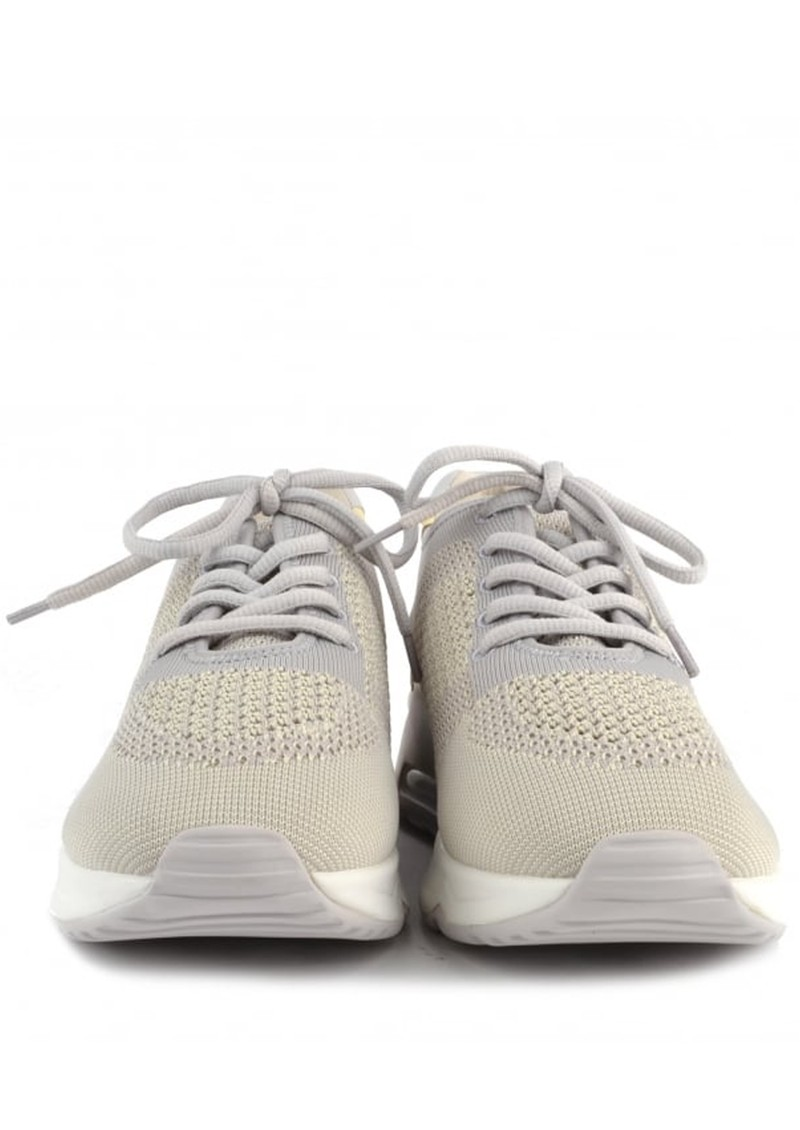Ash Lucky Knit Trainers - Pearl & Yellow main image