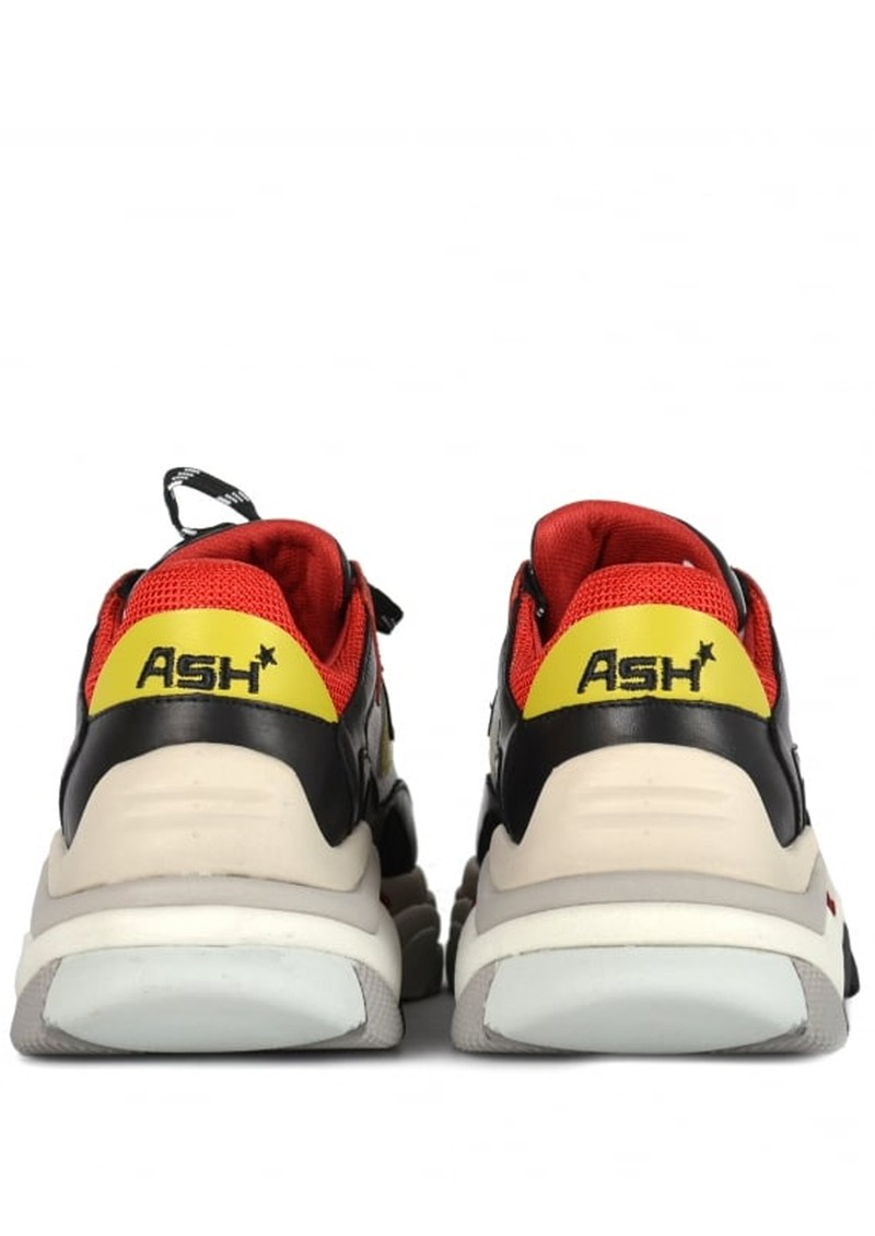 Ash Addict Trainers - Red & White main image