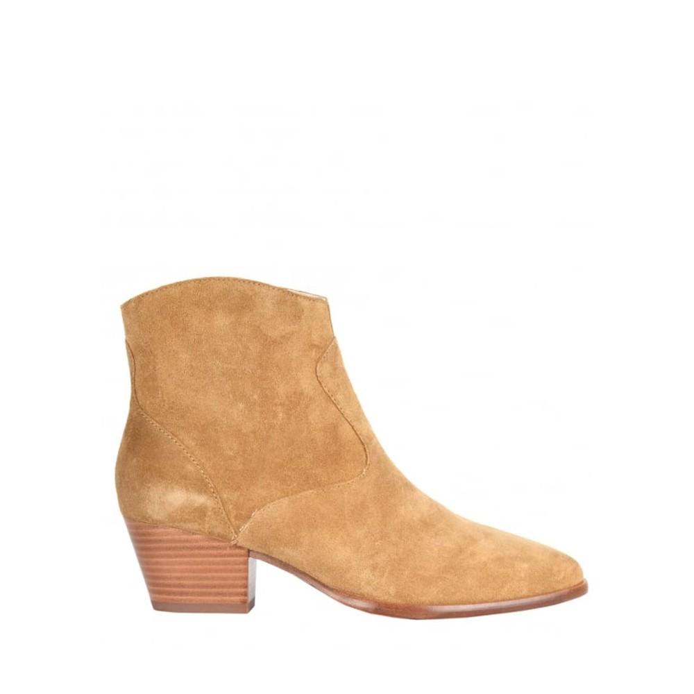 Heidi Bis Suede Boots - Santal