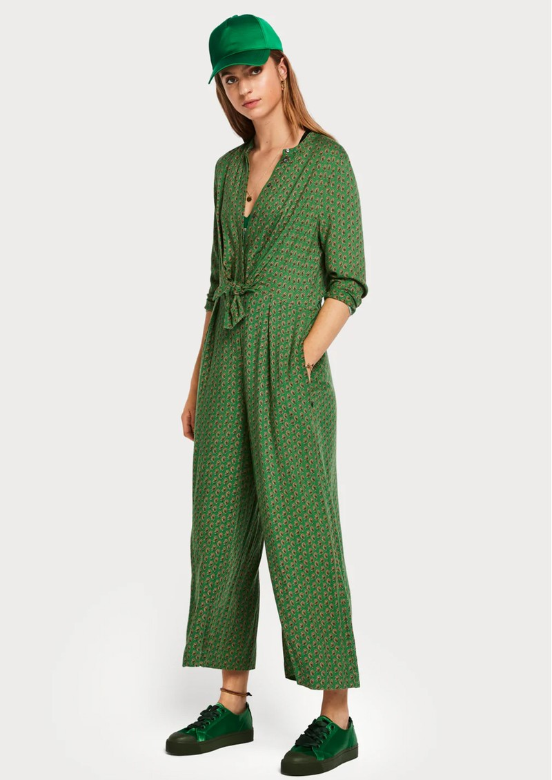 Drapey Knot Detail Jumpsuit - Combo F main image