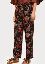 Maison Scotch Floral Wide Leg Trousers - Combo H