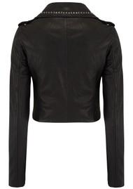 MDK Aia Studded Leather Jacket - Black