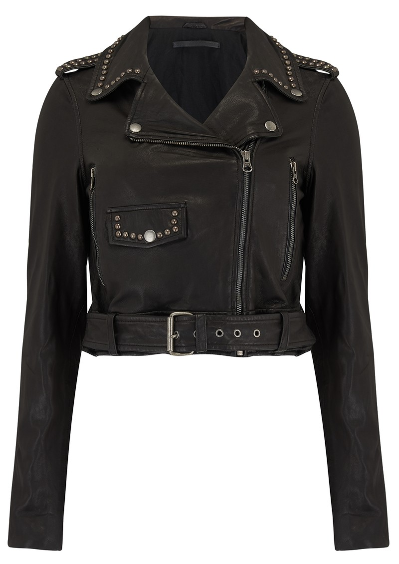 MDK Aia Studded Leather Jacket - Black main image