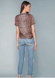 Hale Bob Julia Leopard Printed Top - Brown