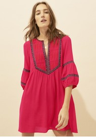 Ba&sh Cale Dress - Redcurrant