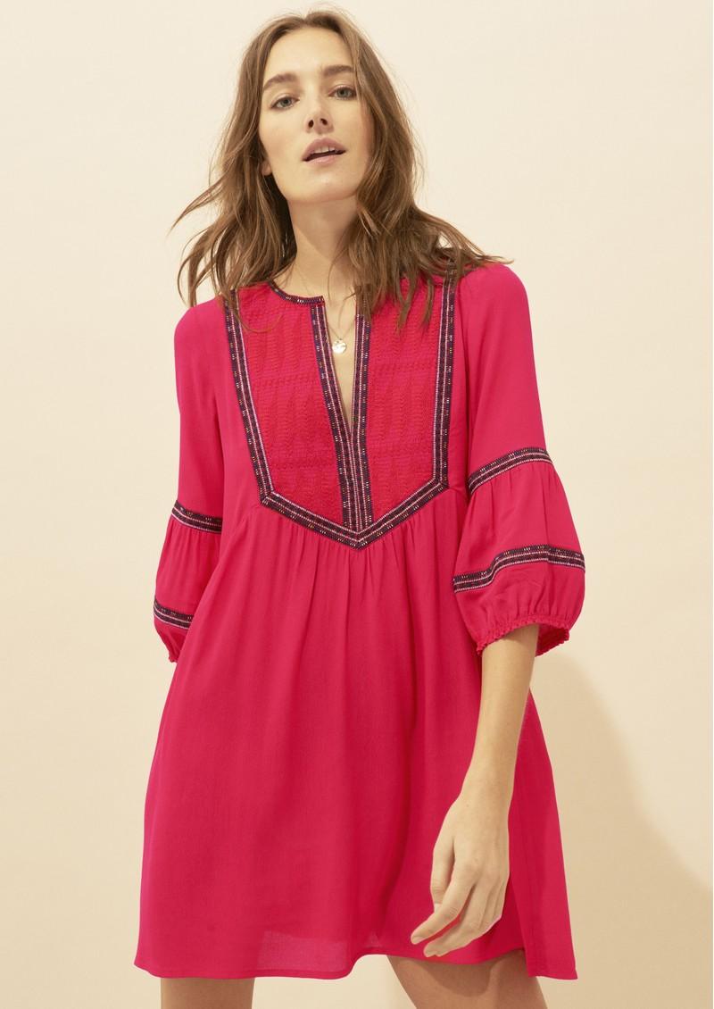 Ba&sh Cale Dress - Redcurrant main image