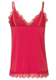 Rosemunde Billie Lace Strap Top - Strawberry