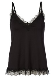 Rosemunde Billie Lace Strap Top - Black