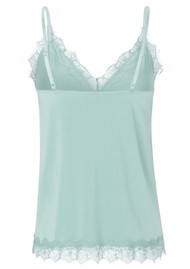 Rosemunde Billie Lace Strap Top - Cloud Blue