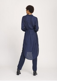 SAMSOE & SAMSOE Rissa Shirt Dress - Dark Sapphire