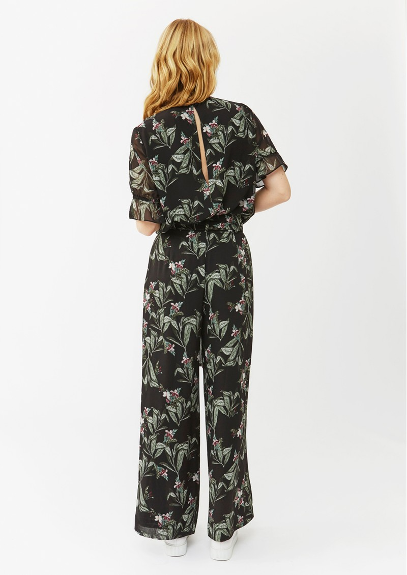 Agnes Trousers - Black Twig main image