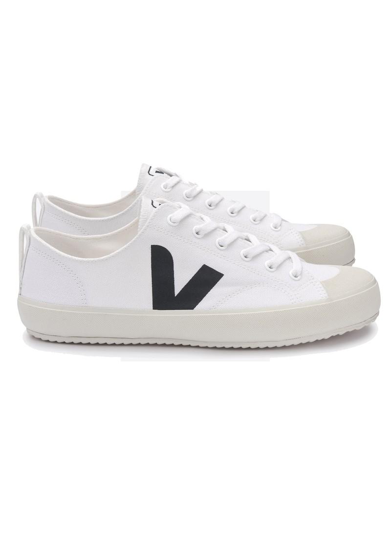 VEJA Nova Canvas Trainers - White & Black main image