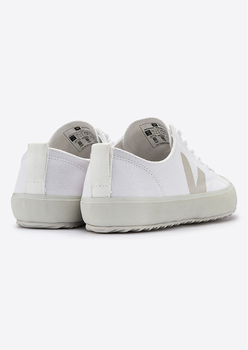 VEJA Nova Canvas Trainers - White Pierre main image
