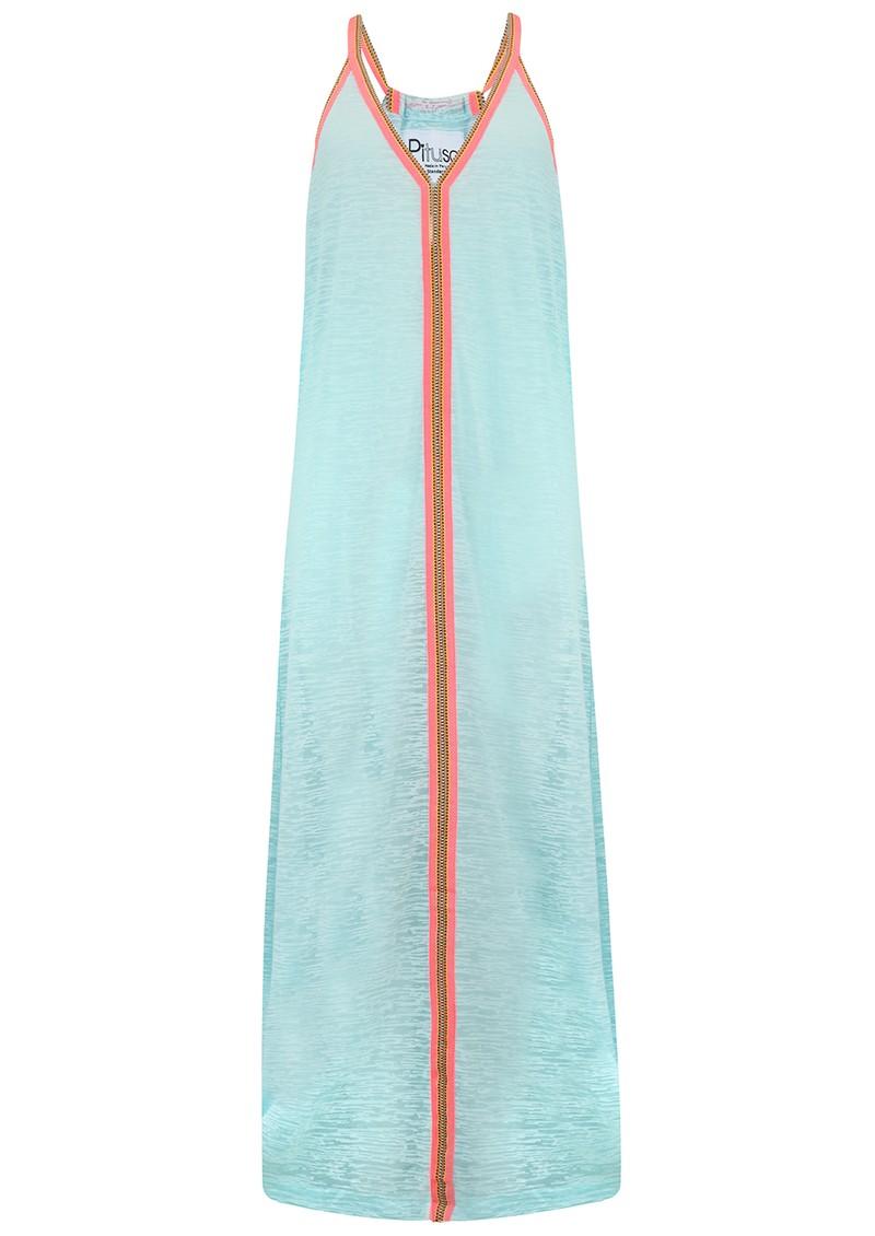 PITUSA Inca Sun Dress - Aqua main image