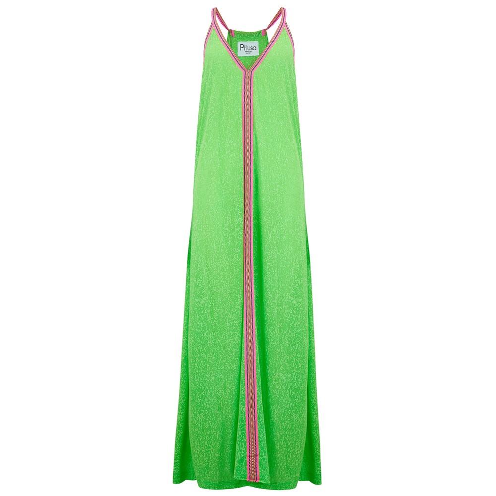 Inca Sun Dress - Lime