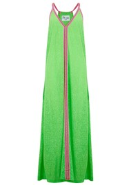 PITUSA Inca Sun Dress - Lime