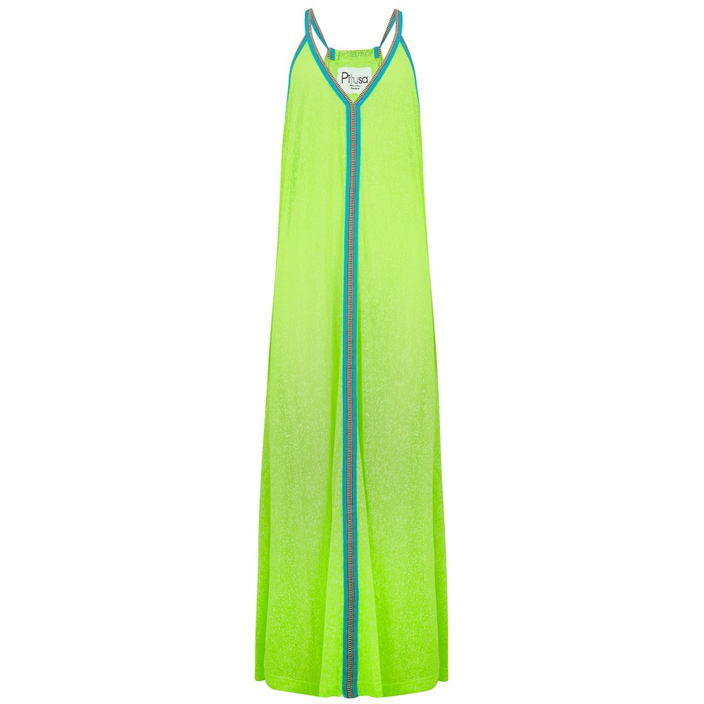 Inca Sun Dress - Lemon