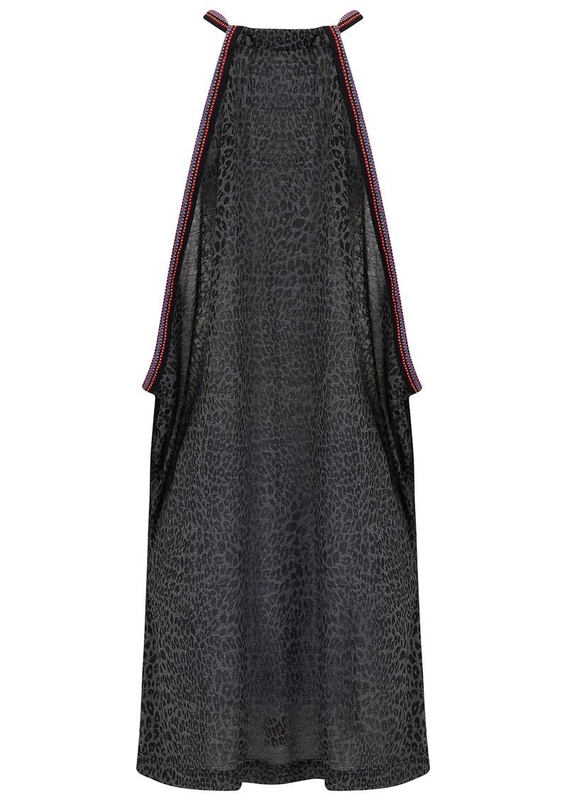 PITUSA Mini Cheetah Sun Dress - Black main image