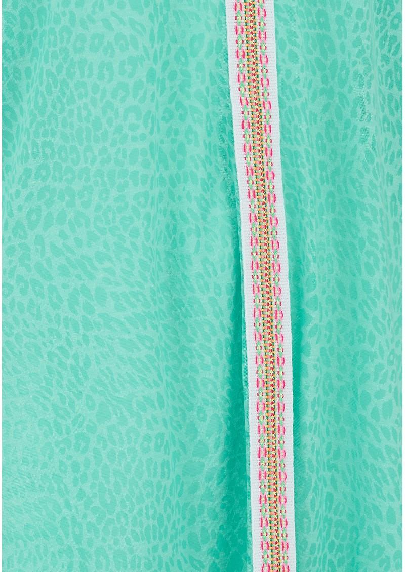 PITUSA Mini Cheetah Sun Dress - Mint main image