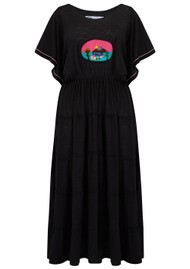 PITUSA Campesino Dress - Black