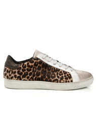 AIR & GRACE Cru Trainers - Leopard