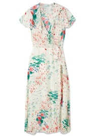 Lily and Lionel Trixie Wrap Dress - Wonderland Ivory
