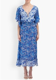 Lily and Lionel Marlowe Maxi Dress - Forget Me Not