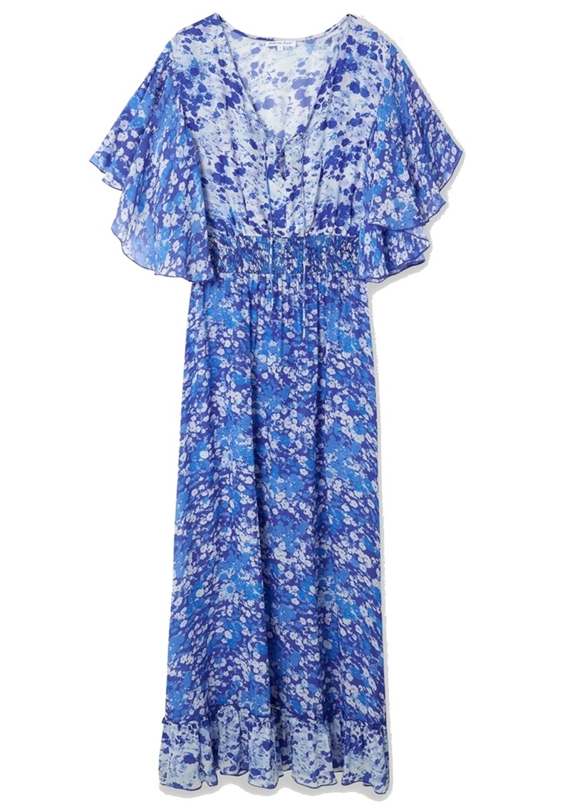 Lily and Lionel Marlowe Maxi Dress - Forget Me Not main image