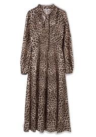 Lily and Lionel Safari 70's Dress - Leopard